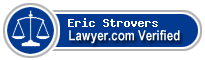 Eric David Strovers  Lawyer Badge