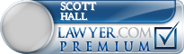 Scott A. Hall  Lawyer Badge
