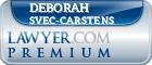 Deborah Svec-Carstens  Lawyer Badge