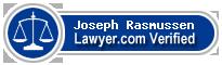 Joseph T Rasmussen  Lawyer Badge