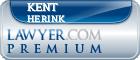 Kent Arden Herink  Lawyer Badge