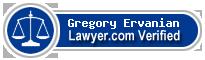 Gregory G. T. Ervanian  Lawyer Badge