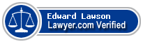 Edward Albert Lawson  Lawyer Badge