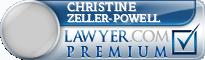 Christine E Zeller-Powell  Lawyer Badge