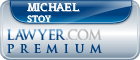 Michael Scott Stoy  Lawyer Badge