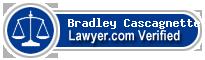 Bradley A Cascagnette  Lawyer Badge