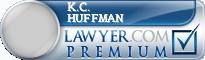 K C Huffman  Lawyer Badge