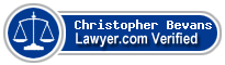 Christopher D Bevans  Lawyer Badge