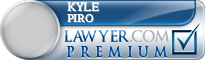 Kyle J Piro  Lawyer Badge