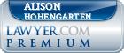 Alison G Hohengarten  Lawyer Badge