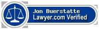 Jon V Buerstatte  Lawyer Badge