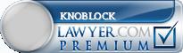 Richard Knoblock  Lawyer Badge