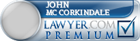 John Steven Mc Corkindale  Lawyer Badge