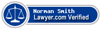 Norman Randy Smith  Lawyer Badge