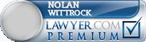 Nolan Ernest Wittrock  Lawyer Badge