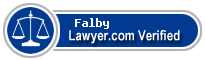 Roderick Falby  Lawyer Badge