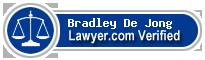 Bradley Keith De Jong  Lawyer Badge