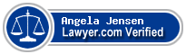 Angela Jensen  Lawyer Badge