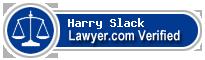 Harry A Slack  Lawyer Badge