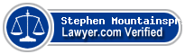 Stephen Mountainspring  Lawyer Badge