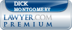 Dick H. Montgomery  Lawyer Badge