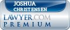Joshua Lloyd Christensen  Lawyer Badge