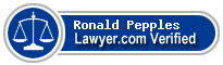 Ronald J. Pepples  Lawyer Badge