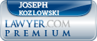Joseph Scott Kozlowski  Lawyer Badge