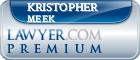 Kristopher Dean Meek  Lawyer Badge