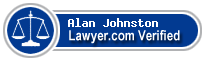 Alan Fred Johnston  Lawyer Badge