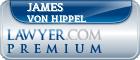 James A Von Hippel  Lawyer Badge