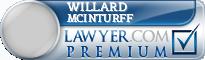Willard W Mcinturff  Lawyer Badge