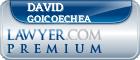 David A. Goicoechea  Lawyer Badge