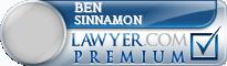 Ben Sinnamon  Lawyer Badge
