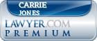 Carrie Sue Jones  Lawyer Badge