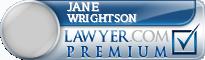 Jane Blackwell Wrightson  Lawyer Badge