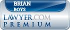 Brian Allen Boys  Lawyer Badge