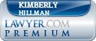 Kimberly Rose Hillman  Lawyer Badge