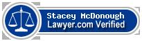 Stacey Lynn McDonough  Lawyer Badge