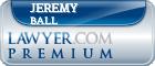 Jeremy Alan Ball  Lawyer Badge