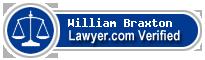 William Marshall Braxton  Lawyer Badge