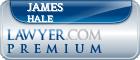 James Chapman Hale  Lawyer Badge