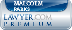 Malcolm Parks  Lawyer Badge