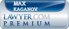 Max Kaganov  Lawyer Badge