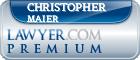 Christopher John Maier  Lawyer Badge