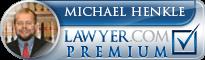 Michael Glendon Henkle  Lawyer Badge