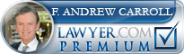 Frank Andrew Carroll  Lawyer Badge