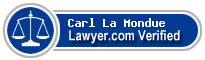 Carl Christen La Mondue  Lawyer Badge