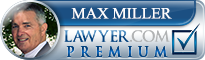 Max E. Miller  Lawyer Badge