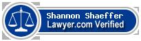 Shannon Carmel Shaeffer  Lawyer Badge